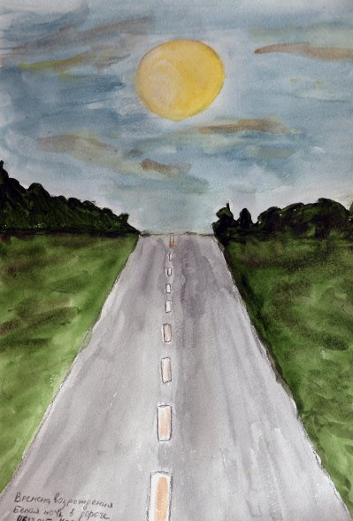 white_night_road